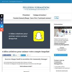 4 idées créatives pour animer votre compte Snapchat