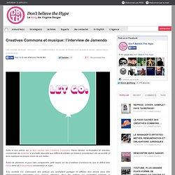Creatives Commons et musique: l'interview de Jamendo