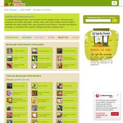 Fiches créatives de bricolage pour enfants sur HugoLescargot.com