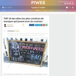 TOP 10 des idées les plus créatives de marques qui jouent avec les remises