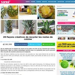 28 Façons créatives de recycler les restes de cuisine