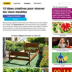 15Idées créatives pour rénover tes vieux meubles