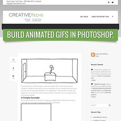 Tips » Build Animated GIFs in Photoshop.