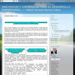 INNOVACION Y CREATIVIDAD PARA EL DESARROLLO EMPRESARIAL