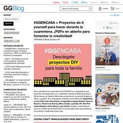 #GGENCASA > Proyectos do it yourself para hacer durante la cuarentena. ¡PDFs en abierto para fomentar la creatividad! / Blog GG, la librería online especializada en cultura visual - Editorial GG