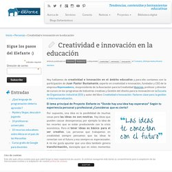 Creatividad e innovación en la educación - Proyecto Elefante