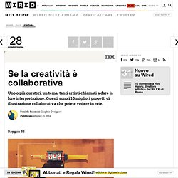 Se la creatività è collaborativa