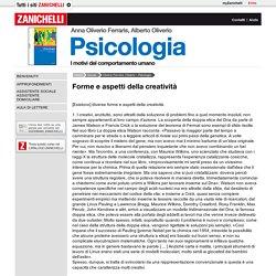 Oliverio Ferraris, Oliverio - Psicologia