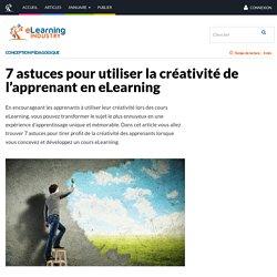 7 astuces pour utiliser la créativité de l'apprenant en eLearning - eLearning Industry