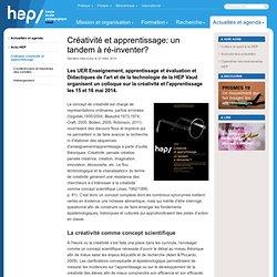Colloque créativité et apprentissage - Archives 2014 - Archives actu - Actualités et agenda