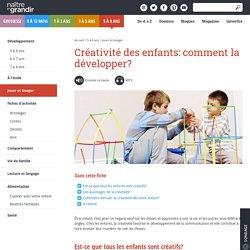 Créativité des enfants: comment la développer?