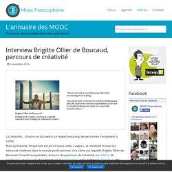 Interview Brigitte Ollier de Boucaud, parcours de créativité