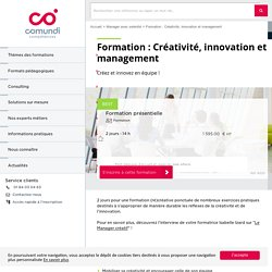 Formation : Créativité, innovation et management - Comundi