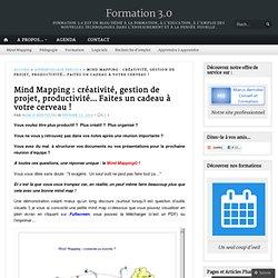 Mind Mapping : créativité, gestion de projet, productivité… Faites un cadeau à votre cerveau !