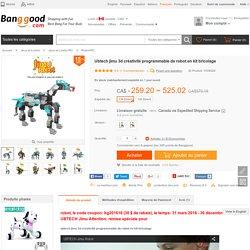 Ubtech jimu 3d créativité programmable de robot en kit bricolage Vente - Banggood.com