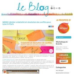 Atelier créativité et résolution de conflits pour Lean In Paris