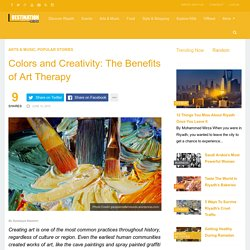 Colors and Creativity: The Benefits of Art Therapy