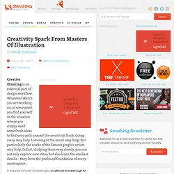 Creativity Spark From Masters Of Illustration | Design Showcase