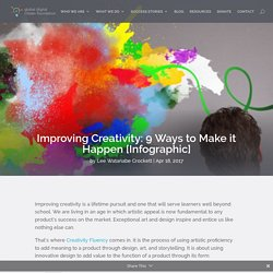 Improving Creativity: 9 Ways to Make it Happen [Infographic]