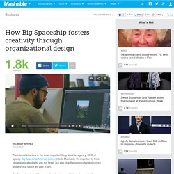 How Big Spaceship fosters creativity through organizational design