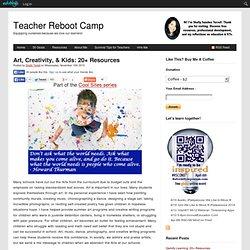 Art, Creativity, & Kids: 20+ Resources