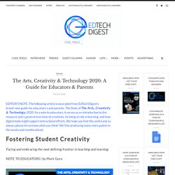 The Arts, Creativity & Technology 2020: A Guide for Educators & Parents