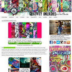artJOURNALING daily - creativityUNLEASHED by traci bautista