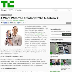 A Word With The Creator Of The Autoblow 2