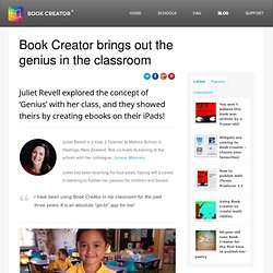 Book Creator brings out the genius in the classroom
