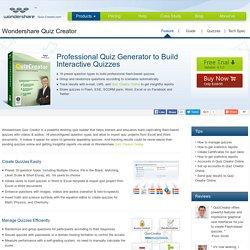 Quiz Creator,Quiz Generator,free Quiz Maker