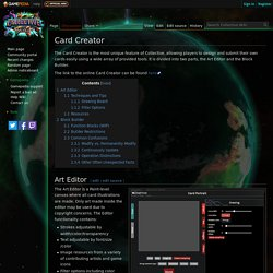 Card Creator - Official Collective Wiki