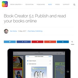 Book Creator 5.1: Publish and read your books online - Book Creator app