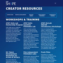 Creator Resources - AT&T SHAPE
