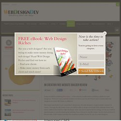 IM Creator Free Website Builder Review