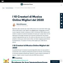 I 10 Creatori di Musica Online Migliori del 2020