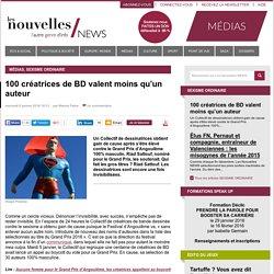 100 créatrices de BD valent moins qu'un auteur - Les Nouvelles NEWS