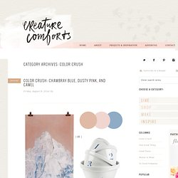 Home - Creature Comforts - daily inspiration, style, diy projects + freebies