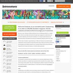 Creaturemag Online Art Magazine