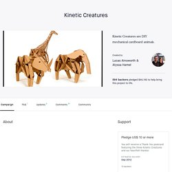 Kinetic Creatures by Lucas Ainsworth & Alyssa Hamel