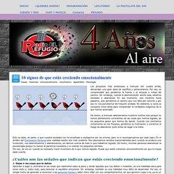 10 signos de que estás creciendo emocionalmente - Radio El Refugio: Radio online, escucha música gratis