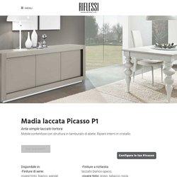 Credenza Picasso P1 Simple laccata