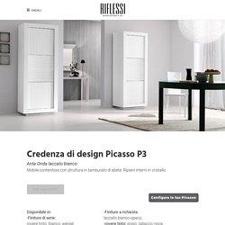 Credenza di design Picasso P3