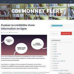 Evaluer la crédibilite d'une information en ligne