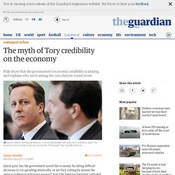 The myth of Tory credibility on the economy