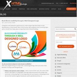 Build Brand credibility through a Well Designed Logo