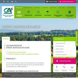 Crédit Agricole en ligne - Crédit Agricole