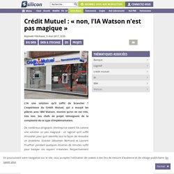 IA : Crédit Mutuel : « non, l'IA Watson n'est pas magique »