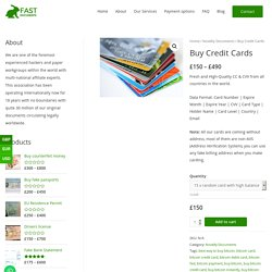 Buy credit card numbers with bitcoin