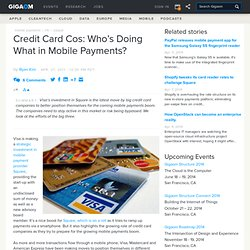 Credit Card Cos: Who's Doing What in Mobile Payments?: Tech News and Analysis «