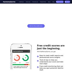 Credit score - Check your Credit Score For Free Online
